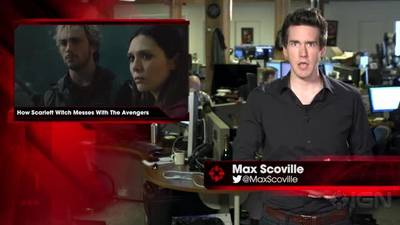 News video: How Scarlett Witch Messes With The Avengers - IGN News